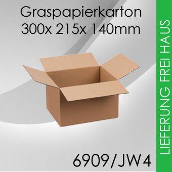 OVE 175x Graspapierkarton JW4 - 300x 215x 140mm
