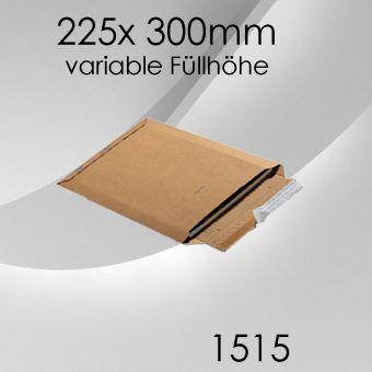 100x Wellpappversandtasche 1515 - 225x 300mm