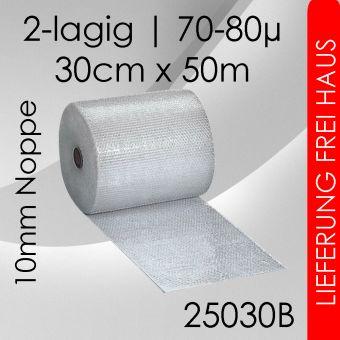 15x Luftpolsterfolie - 30cm x 50m - Business