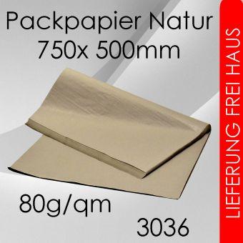 90kg Packpapier Bogenware 75x 50cm
