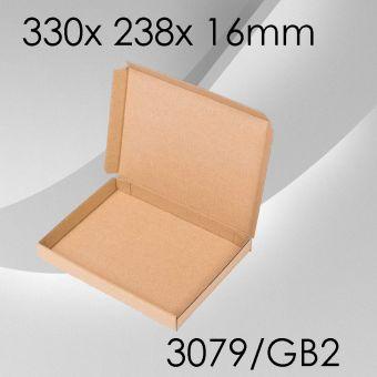 100x Großbriefkarton Gr. 2 - 330x 238x 16mm