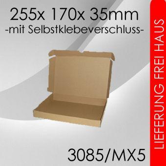 OVE 400x Maxibrief Gr. 5 - 255x 170x 35mm - selbstklebend