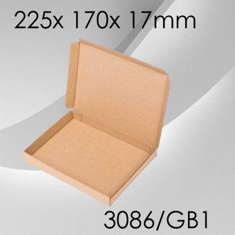 100x Großbriefkarton Gr. 1 - 225x 170x 17mm