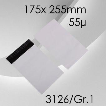 100x LeoBag Folienversandtaschen Gr. 1 - 175 x 255mm (DIN A5+)