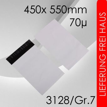 3.000x LeoBag Folienversandtaschen Gr. 7 - 450x 550mm