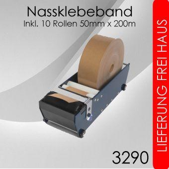Starterpaket Nassklebeband 50mm Papierklebeband
