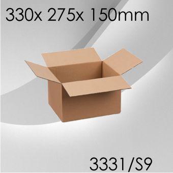 50x Faltkarton S9 - 330x 275x 150mm