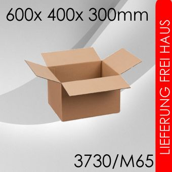 OVE 30x Faltkarton M65 - 600x 400x 300mm