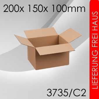 OVE 400x Faltkarton C2 - 200x 150x 100mm