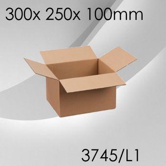 50x Faltkarton L1 - 300x 250x 100mm