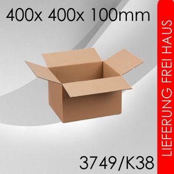 250x Faltkarton K38 - 400x 400x 100mm