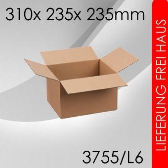 375x Faltkarton L6 - 310x 235x 235mm