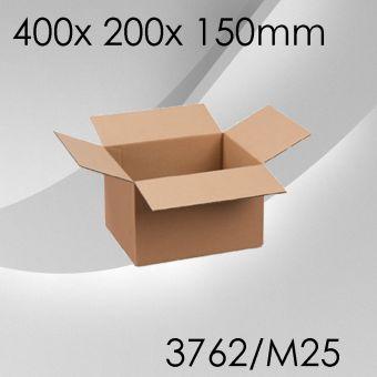 50x Faltkarton M25 - 400x 200x 150mm