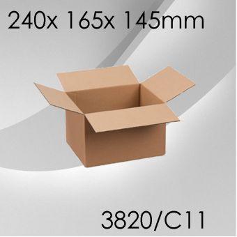 50x Faltkarton C11 - 245x 165x 145mm