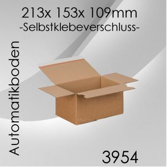 60x Automatikkarton EC9 - 213x 153x 109mm