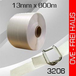 2 Rollen gewebtes Umreifungsband 13mm x 600m