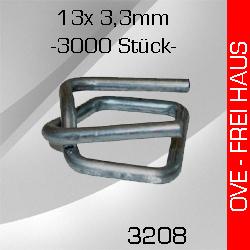 OVE 3.000 Metallschnallen 13mm